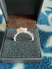 anello cin pietre