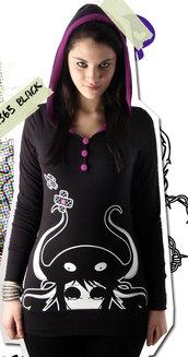 Miniabito vestito Killing Capera dark emo punk wonderland kawaii