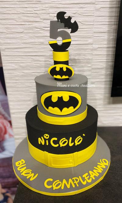 Torta Batman Compleanno Nicolò Personalizzata
