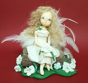 Collezione Bambole - Fate - Statuette in porcellana fredda