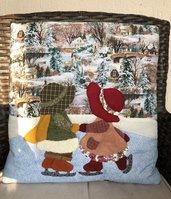 Cuscino quillow Sue e Bill - un cuscino che diventa un plaid