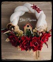 Ghirlanda Fuoriporta  natalizia