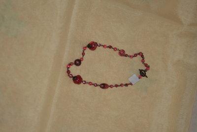 collana rosa scuro