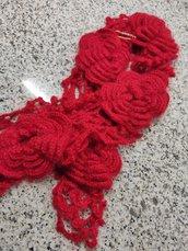 Sciarpa Rosso Amore