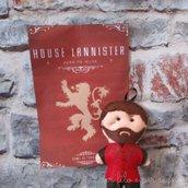 Portachiavi Tyrion Lannister pannolenci