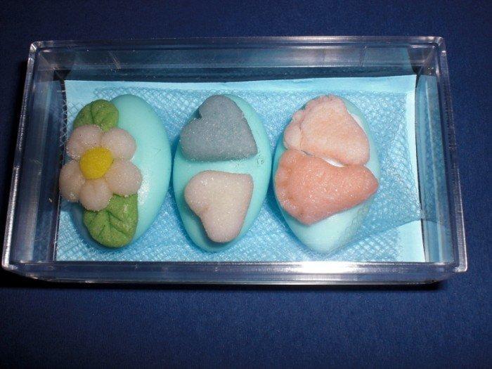 confetti DECORATI  bomboniera battesimo Bimbo
