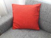Cuscino ottman rosso
