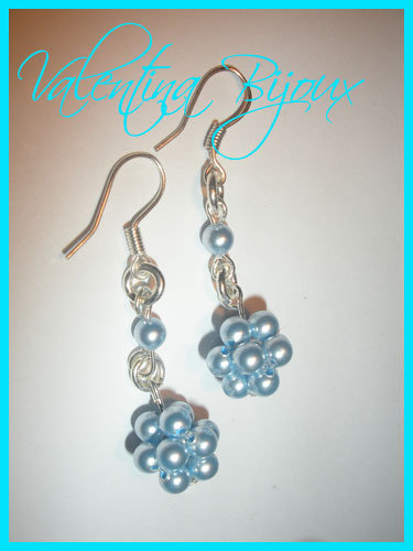 Orecchini Blue Perl
