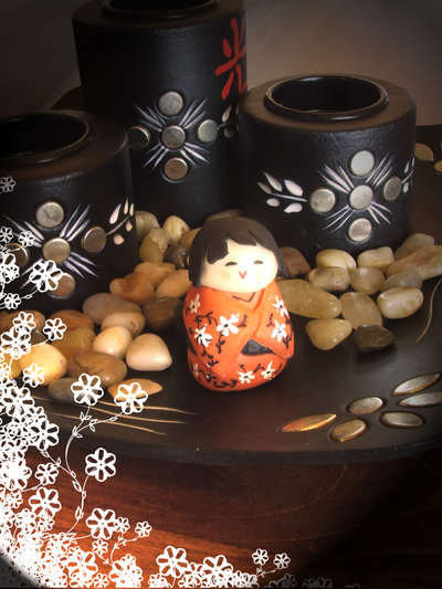 Kokeshi giapponese