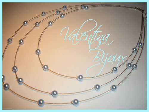 Collana perle swarovski
