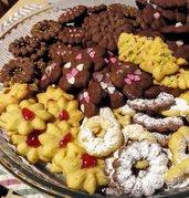 Biscotti pasticcini frolla montata regalo Natale handmade Italy 300 g su ordinazione