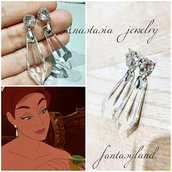 orecchini anastasia pendenti cristallo regalo together in paris cosplay