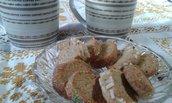 Biscotti pasticcini Sables alle NOCI  handmade in Italy 300 g su ordinazione