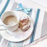 TOVAGLIETTE IN COTONE A FORMA DI CUORE, idee regalo personalizzabili, tovaglietta colazione, tovaglietta americana, per San Valentino, tovagliette all'americana a forma di cuore
