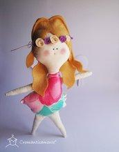 PRIMAVERA - morbida, dolce bambolina di pezza