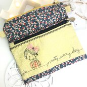 Pochette con doppio vano Pretty every day