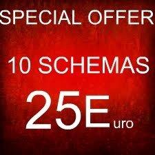 SUPER OFFERTA - 10 MODELLI PEYOTE BRACCIALE A €25