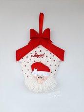 Fuoriporta natalizio con Babbo Natale