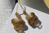 orecchini serpenti oro