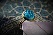 anello sottile azzurro