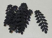 foglie in feltro antracite