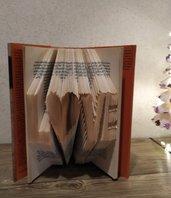 Book Folding, Folded Book, Libro Piegato, Libro Scultura , regalo di Natale, L❤️VE
