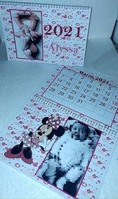 Calendario personalizzabile  con foto