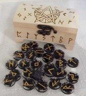 Le Rune di Futhark in Ossidiana