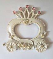 Stampo cornice a forma di carrozza principessa