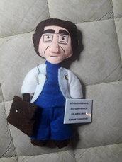 Magnete pupazzo  Calamita dottor Nowzaradan di vite al limite con frase