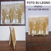 Foto Laserizzata su legno 20X30