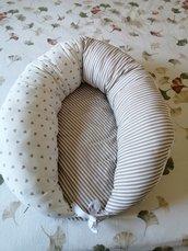 Serpentone allattamento e riduttore lettino