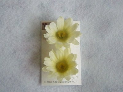 flowers hairclips