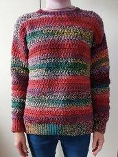 Maglione donna fatto a mano