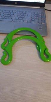 manici pipioca verde smeraldo