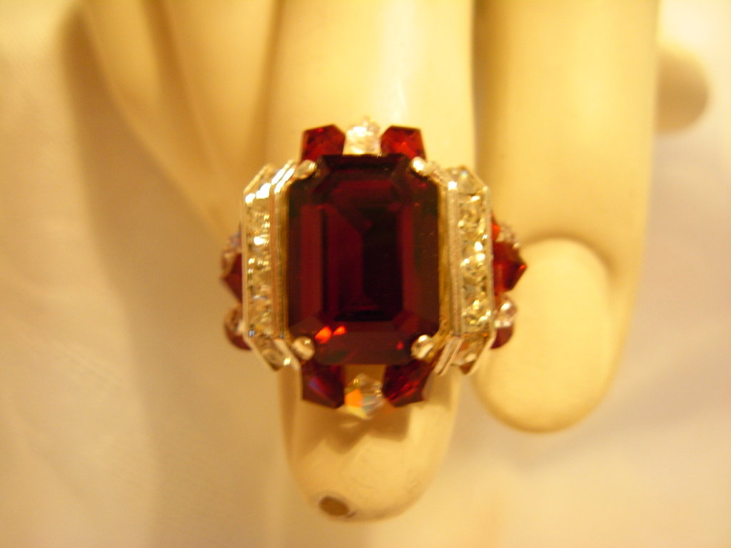 anello red diamond