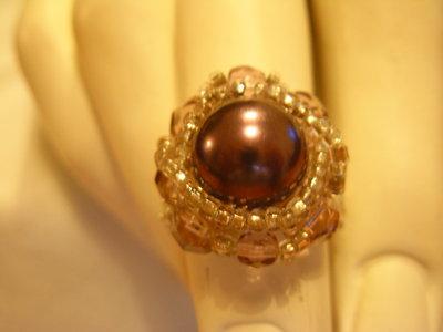 OFFERTISSIMA anello perla glicine
