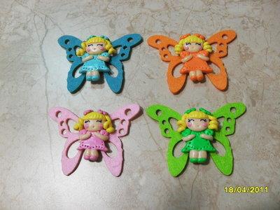 calamite farfalle colorate
