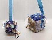 Cubottosensoriale morbido, gioco per neonato, regalo nascita originale