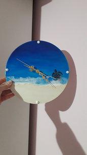Orologio da parete in stile ocean art