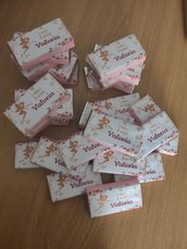 Kit barrette di cioccolato a tema per eventi e feste
