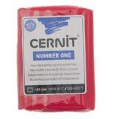 Pasta da modellare Cernit number one - 62 grammi - colore Rosso