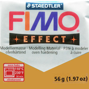 Fimo 56 gr metallic gold
