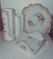 Portabicchieri e portatovaglioli in  ceramica