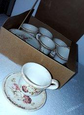 Set 6 pezzi tazzine da caffe