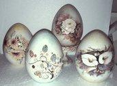 Uòva di pasqua in ceramica