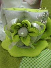 Tazza porta cialde con fiore piccolo