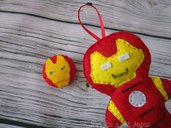 Iron man in pannolenci