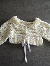 Giacca in lana . Neonato.