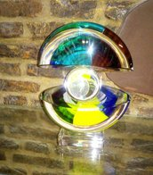 Vaso di Marco Varisco, in vetro di Murano